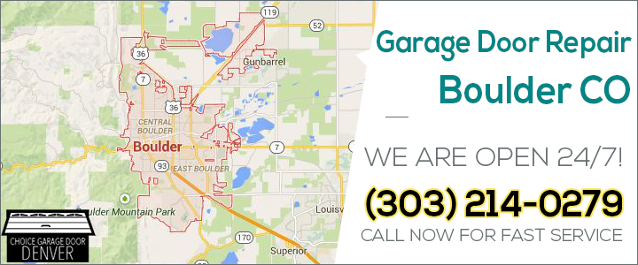 Garage Door Repair Boulder Co Pro Garage Door Service